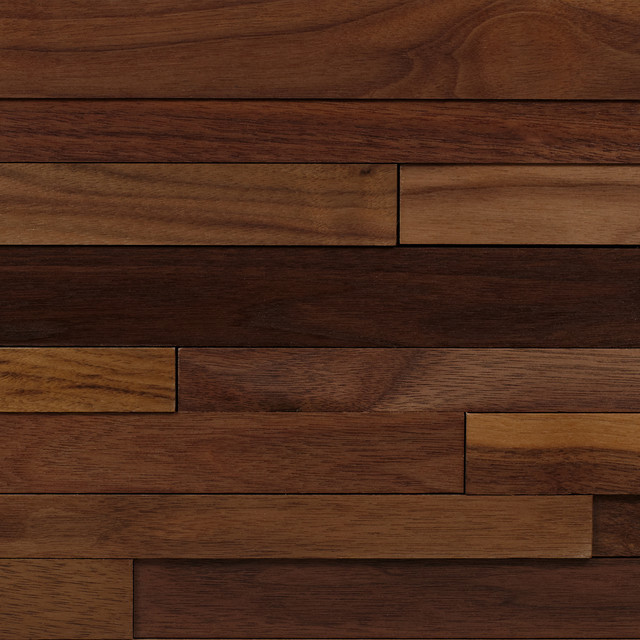 Walnut Wood Planking Contemporary Chicago By The