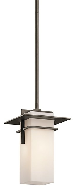Kichler Lighting Caterham Indoor / Outdoor Contemporary Mini Pendant Light X-ZO0 contemporary-pendant-lighting