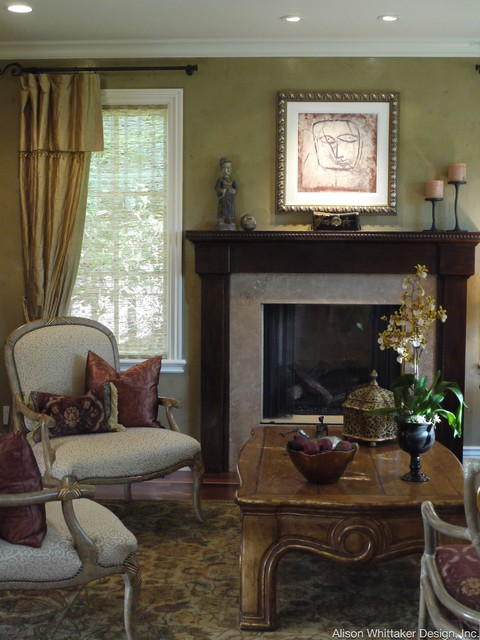 Los Gatos Redefined Traditional traditional-living-room