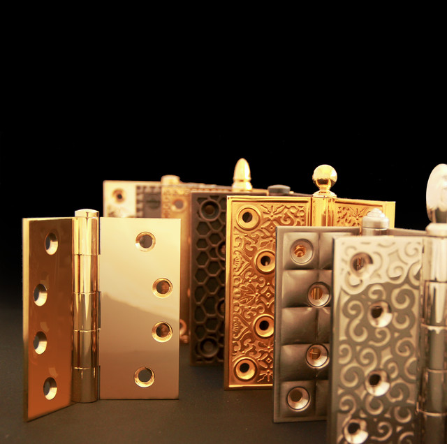 SA Baxter Bespoke Brass and Bronze Door Knobs eclectic-home-improvement