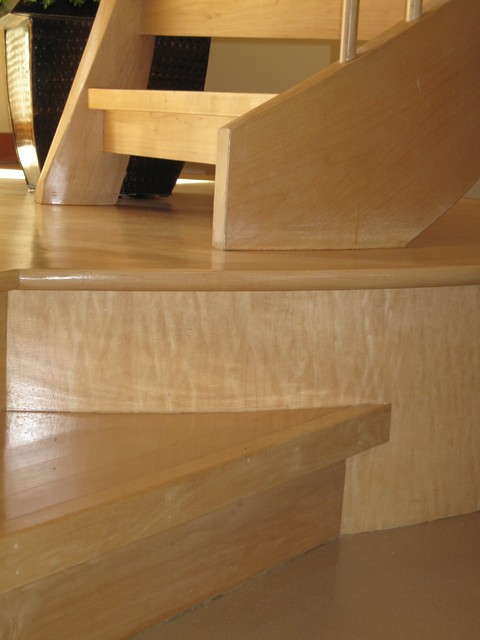 Double helix stair asian-staircase