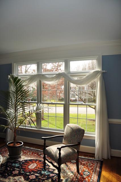 Full Frame Double Hungs windows