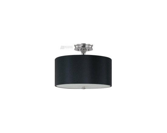Black nickel transitional ceiling light - http://shop.southshoredecorating.com/CP-3874PN-509