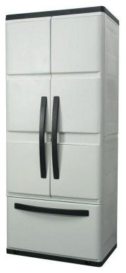 HDX 30 in. Plastic Cabinet with Drawer 194982 - contemporary - storage units and cabinets - by ...