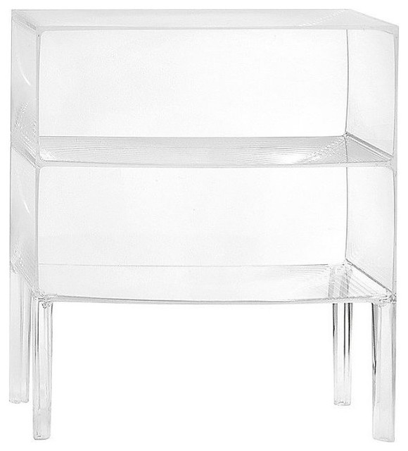 Ghost Buster Cabinet by Kartell contemporary nightstands and bedside tables
