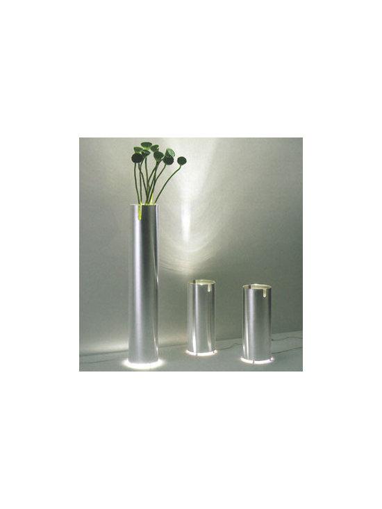 ACQUARIUS FLOOR LAMP BY PALLUCCO LIGHTING - Acquarius by Pallucco is multi functional Lamp and vase.