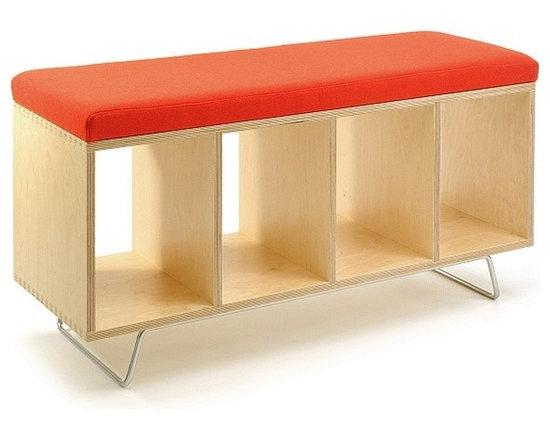OFFI Birch Bench Box -
