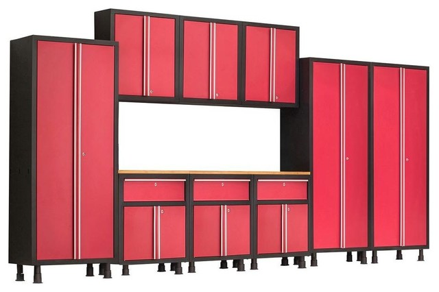 Garage Storage Systems & Accessories: NewAge Products Garage Cabinets Bold - Contemporary ...