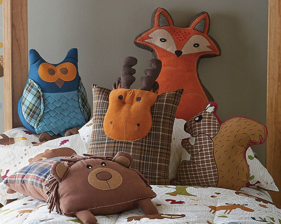 Woodland Animal Pillows -