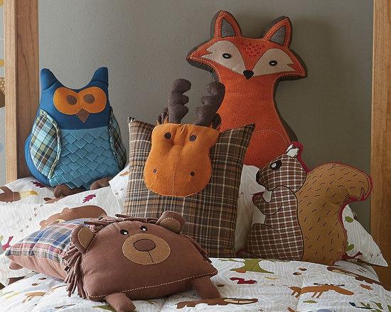 Woodland Animal Pillows -