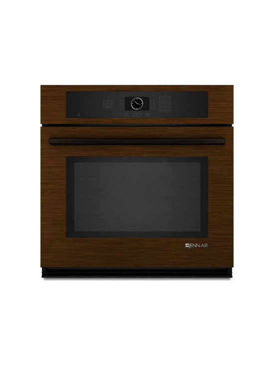 """Jenn-Air 30"""" Single Electric Wall Oven, Oiled Bronze 