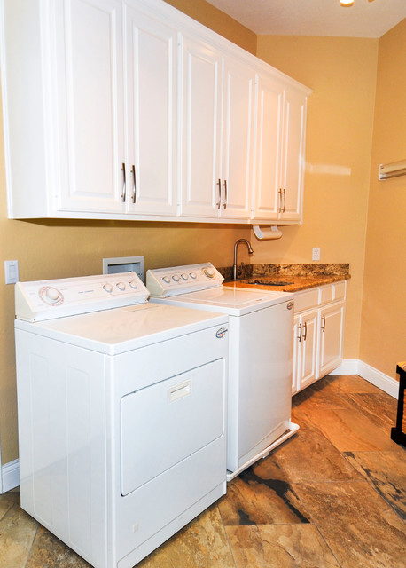 West Austin Laundry Room traditional-laundry-room