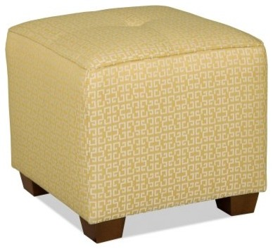 Sam Moore Karly Cube - Citrine modern-footstools-and-ottomans