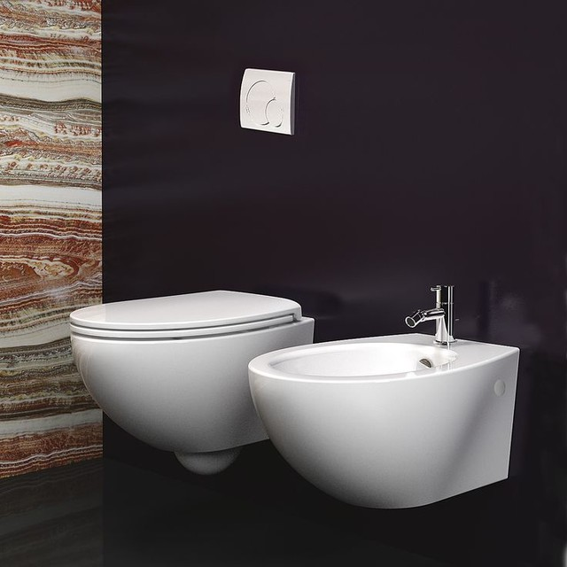 catalano velis toilet and bidet modern toilets montreal by montreal les bains. Black Bedroom Furniture Sets. Home Design Ideas
