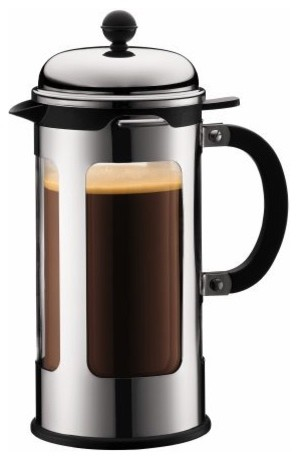 Modern Glass Coffee Maker : Chambord Double Wall Glass 8 Cup French Press Coffee Maker with Pour Control - Modern - French ...
