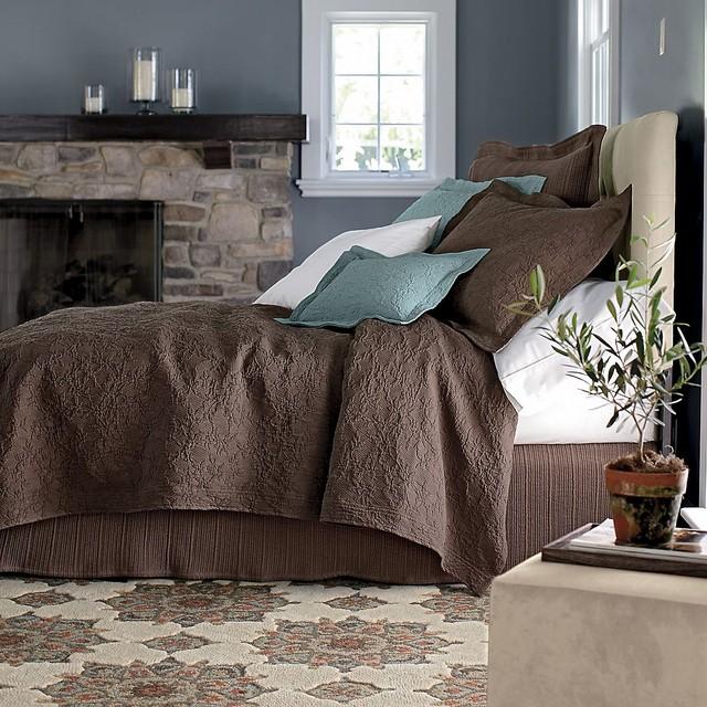 Collette Egyptian Cotton Matelassé eclectic-quilts-and-quilt-sets
