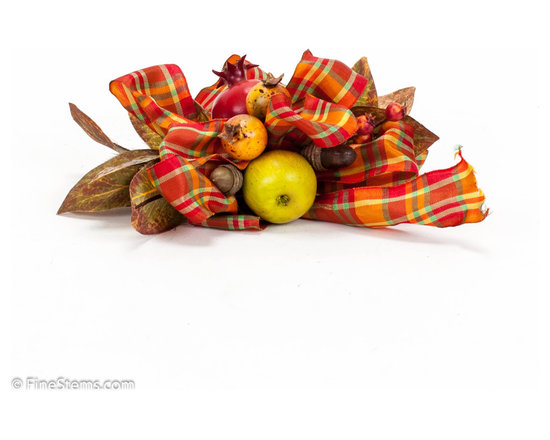 Fall Runner Bow - Handcrafted Fall Runner Bow