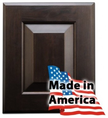Heritage Premiere (Espresso Cherry) Sereies RTA Cabinets Made in USA - Traditional - Kitchen ...
