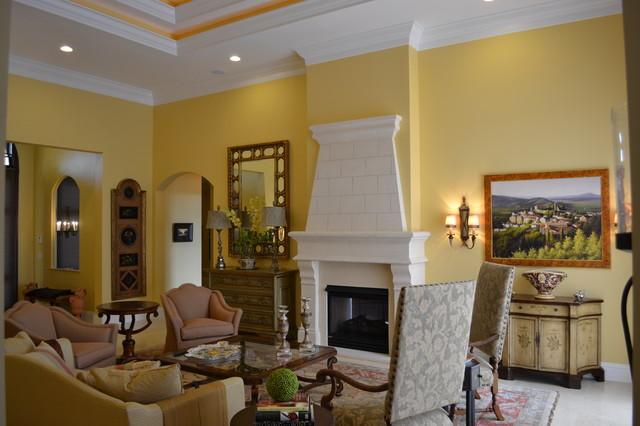 Ibis Golf & Country Club contemporary-living-room
