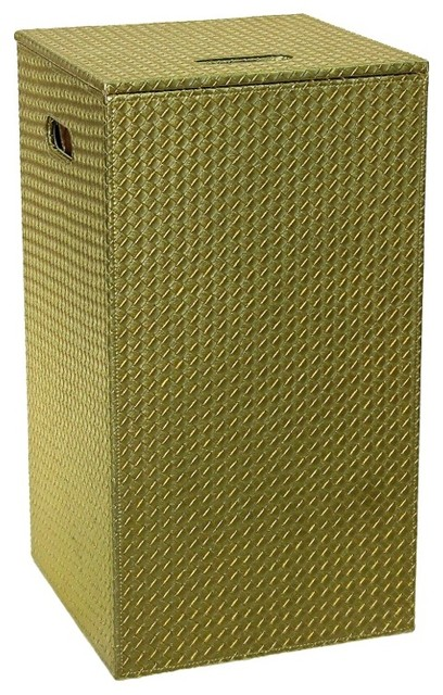 Gold laundry hamper and stool of faux hamper contemporary hampers