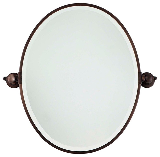 Traditional Minka 24 1 2 Quot High Oval Brushed Bronze