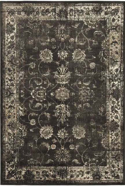 Amelia Area Rug Brown Traditional Rugs by Home