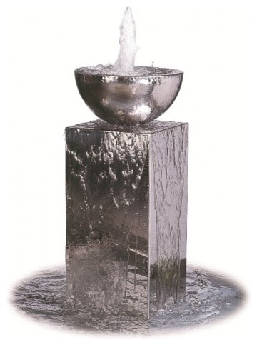 Eclipse water feature modern indoor fountains - Modern indoor water feature ...