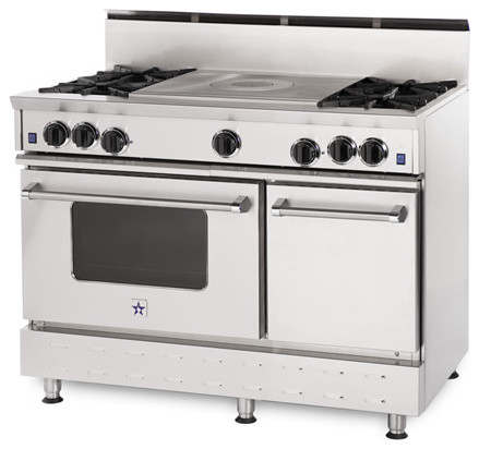 "48"" BlueStar RNB French Top Gas Range traditional-gas-ranges-and-electric-ranges"