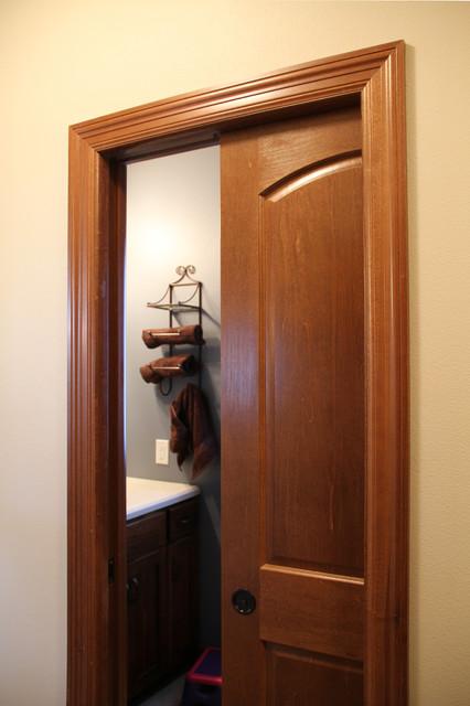 Pocket Doors & Barn Doors - Bathroom - other metro - by Bayer Built ...