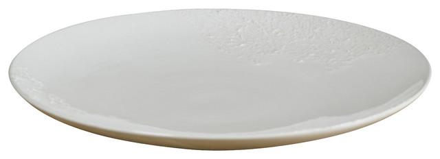 Handmade Round Serving Platter contemporary-platters