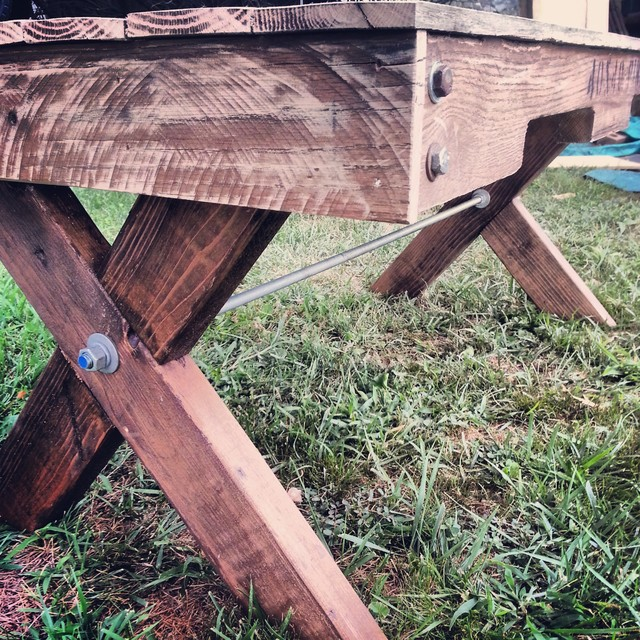 Shabby Chic Pallet Coffee Table coffee-tables