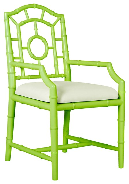 Bungalow 5 Chloe Armchair In Spring Green eclectic-armchairs-and-accent-chairs
