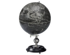Authentic Models Vaugondy 1745 Noir Globe contemporary accessories and decor