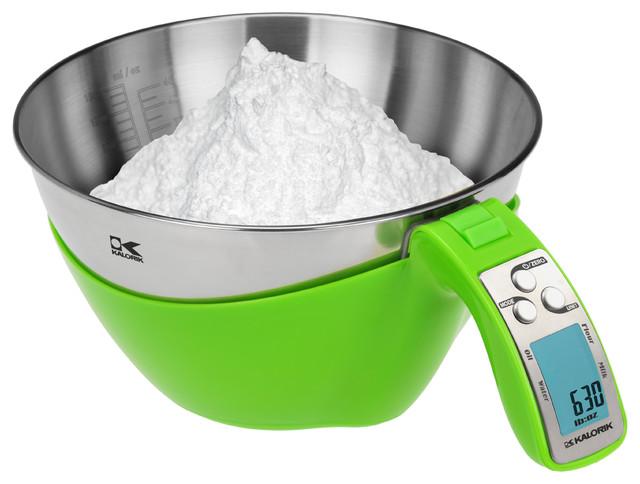 Kalorik Lime Green iSense Food Scale modern small kitchen appliances