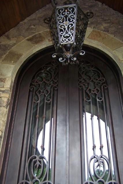 Wrought Iron Doors front-doors