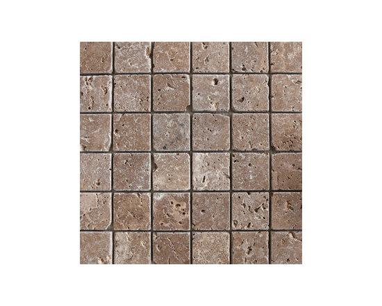 Travertine & Noche Natural Stone Mosaic -