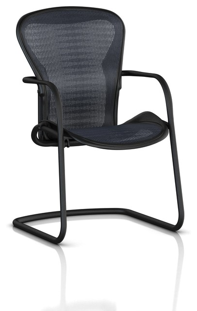 Aeron Side Chair with Graphite Frame modern-office-chairs