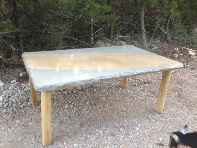 Concrete Jungle Patio Furniture & Fire Tables Tropical austin by Co