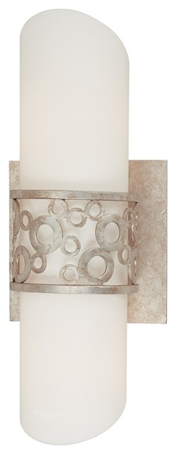 "Bubblini 11 1/2"" High Bath/Wall Sconce Light contemporary wall sconces"