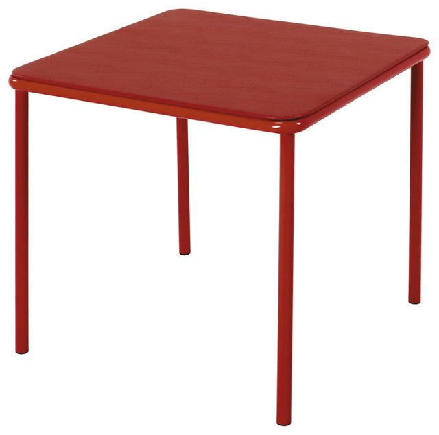 Kids Square Vinyl Top Table contemporary-kids-tables-and-chairs