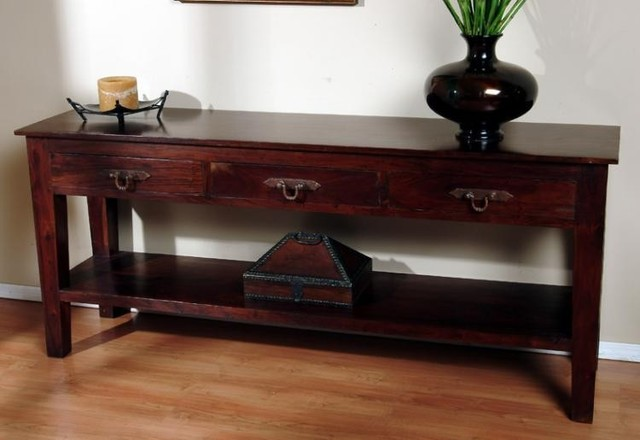 Classic Home Furniture Florence 3 Drawer Console Table