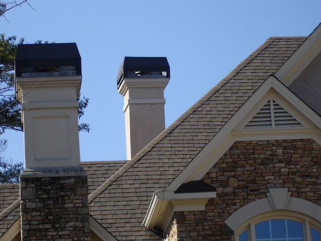 Chimney Caps and Shrouds traditional-home-decor
