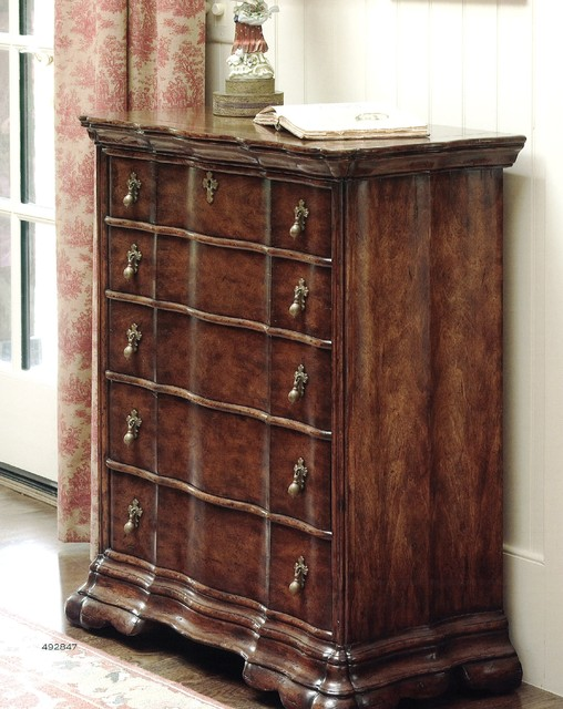 Jonathan Charles Fine Furniture Walnut Chest of Drawers
