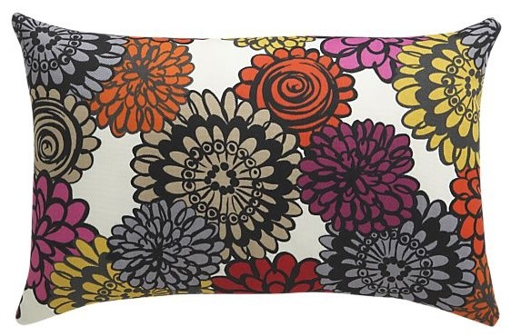 Fiona Outdoor Pillow contemporary-outdoor-pillows