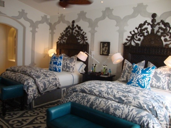 Mexican Otomi Fabric Eclectic Bedding Other Metro