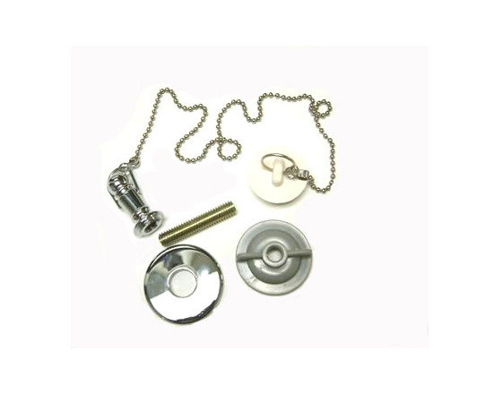 Kingston Brass - Replacement Rubber Stopper, Chain & Attachment for CC1001 - Replacement Rubber Stopper, Chain & Attachment for CC1001