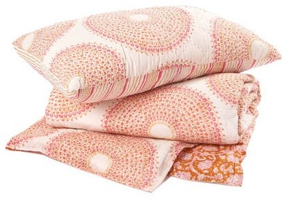 Kashmir Quilts and Shams eclectic-bedding
