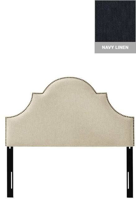 Custom Ashby Upholstered Headboard traditional-headboards