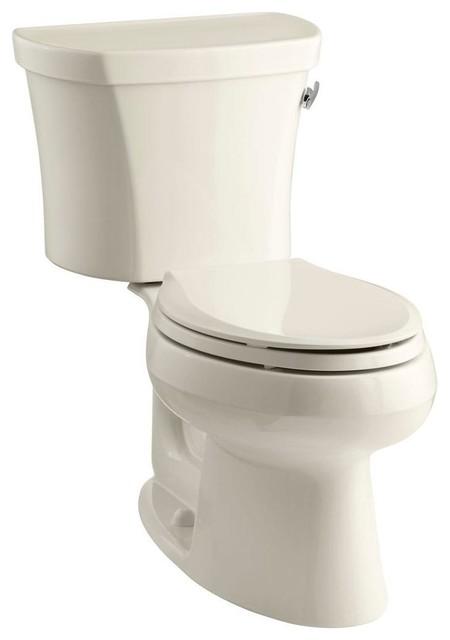 Kohler Toilets Wellworth 2 Piece 1 28 Gpf Elongated Toilet