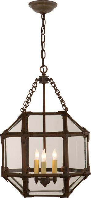 Small Morris Hanging Lantern Modern Pendant Lighting